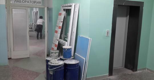 Ремонт лаборатории и кабинета забора мокроты