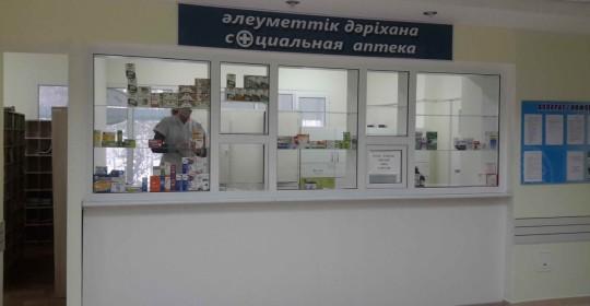 Окончание ремонта регистратуры и лаборатории