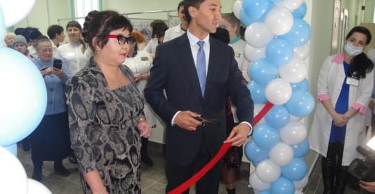 Открытие третьего корпуса КГП «Поликлиника №1 города Темиртау» УЗКО после окончания капитального ремонта