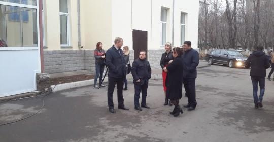 Посещение секретаря городского маслихата Ломакина А.Б. и депутатов